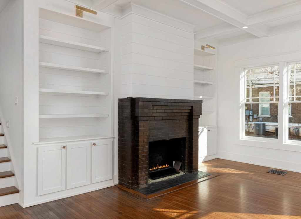 Image of fireplace by MT Building Group in Murfreesboro